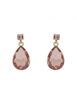 AMELIE TEARDROP AND SQUARE COLOUR EARRING